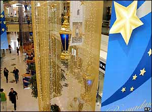Ramadan decorations at a shopping mall in Dubai