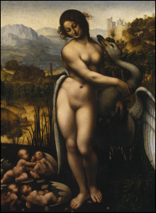 Leda and the Swan (after Leonardo), about 1515.