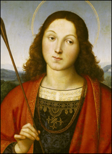 Saint Sebastian, about 1502-3.