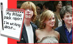 Rupert, Emma and Dan at the premiere