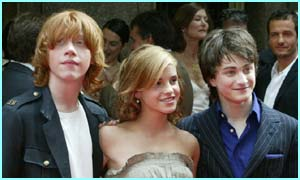 Potter stars at New York premiere