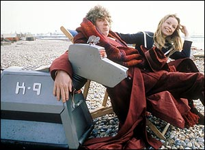 K9, Tom Baker and Lalla Ward