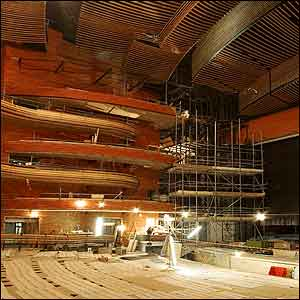 The Donald Gordon Theatre within the Wales Millennium Centre is named after the businessman who donated funds to the project