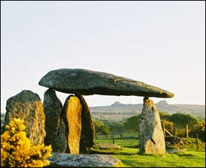 The Pentre Ifan burial chamber in Pembrokeshire (Mark Edwards, Aberystwyth)