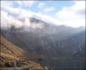 Chris McIntyre took this photo on a field trip to Cwm Idwal, Snowdonia