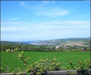 Mr Edgington took this view across to St.Dogmaels, Cardigan from the A478