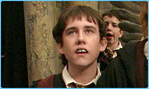 Matthew Lewis plays Neville Longbottom