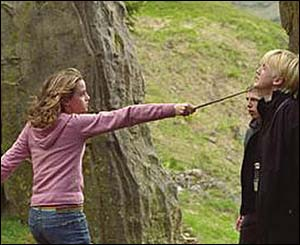 Hermione and Draco Malfoy