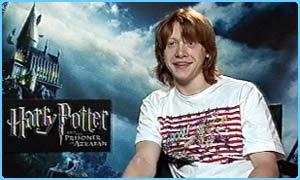 Rupert Grint aka Ron Weasley