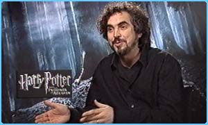 Alfonso Cuaron, director of Harry Potter III