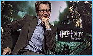 Gary Oldman plays Sirius Black
