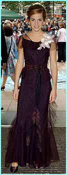 Another premiere, another cool dress for Emma Watson - she must have loads!