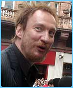 Is David Thewlis hoping it's a full moon??