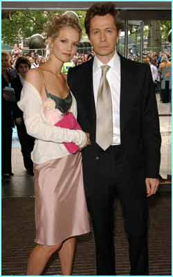 Gary Oldman looked smarter than Sirius Black! He was with his lovely girlfriend Elsa