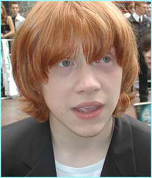 Rupert looks a bit bewildered, is he taking on Ron's personality??