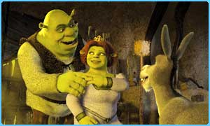 Scene from Shrek 2