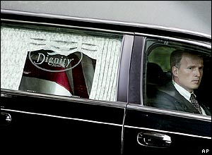Reagan hearse