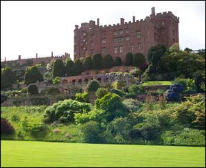 Powis Castle, Welshpool taken by Matthew Jelves from Warrington