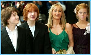 Potter stars with JK Rowling