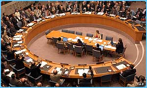 The UN security council have supported a US and UK plan