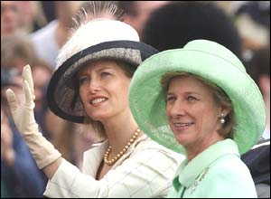 Countess of Wessex and Duchess of Gloucester