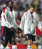 Emile Heskey and Steven Gerrard