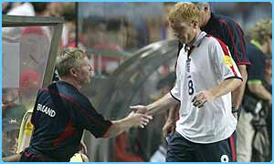 Paul Scholes could miss the next England game