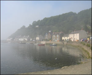 Eiona Roberts from Swansea sent in this picture of fog rolling into Lower Fishguard