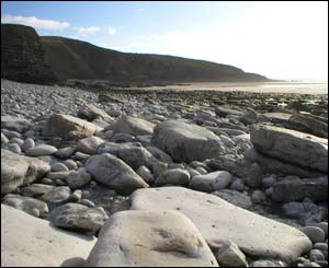 Steve sent in this image from Southerndown beach, near Ogmore