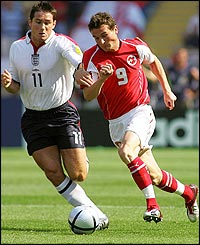 England's Frank Lampard in action