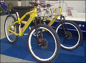 Photo of the Loadstar powered mountain bike