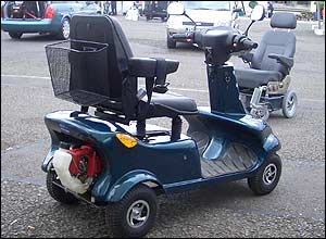 Photo of RSE dual power scooter.