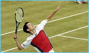 Tim Henman is still searching for a Grand Slam win