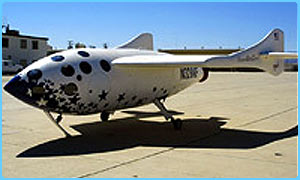 SpaceShipOne Scaled Composites