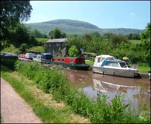 Vaughan from Ebbw Vale sent in this picture from the Monmouthshire-Brecon canal