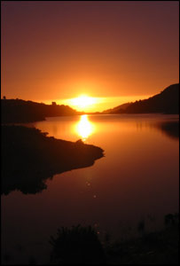 This shot of Llanberis Lake in the evening was taken by Mike Tonkin