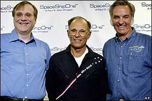 The men behind SpaceShipOne