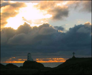 Andreas Daniel took this shot of Llanddwyn lighthouse while on a family outing