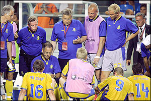 Sweden prepare for penalties