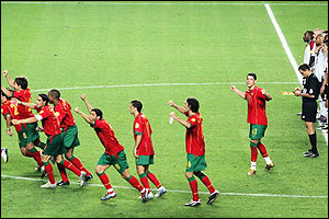 Portugal players
