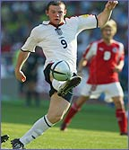 Wayne bagged four goals at Euro 2004