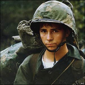 Young US Marine