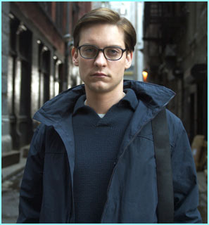 ... So why does Peter Parker (Tobey Maguire) look so unhappy?
