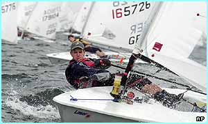 Great Britain often win medals in sailing