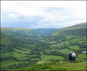 This photo was recently taken during Pontypool Ramblers walk in the Capel-y-ffin area (Mike Williams)