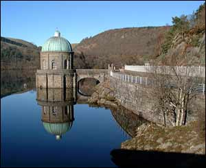 Hywel Lloyd from Dunedin, New Zealand sent in this shot of the Elan Valley reservoir