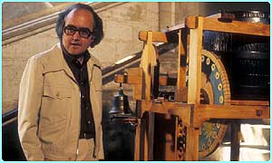 James Burke and water clock
