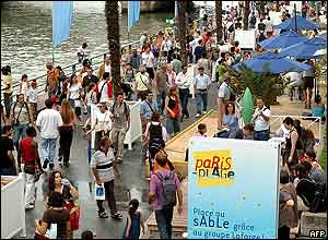 Paris Plage has been a huge success over the past two summers