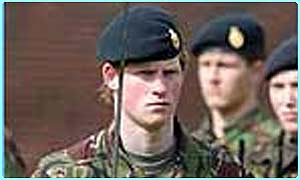 Prince Harry is planning on joining the army