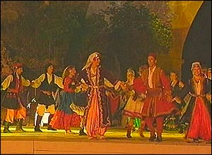 Dancers at Mostar ceremony